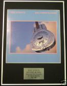 DIRE STRAITS - Framed LP Cover - BROTHERS IN ARMS